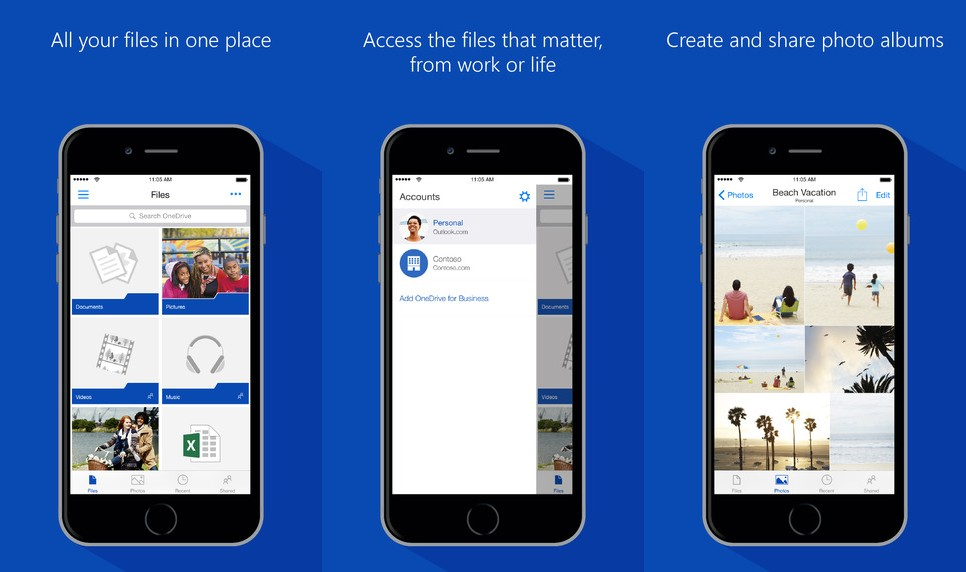 OneDrive Screen