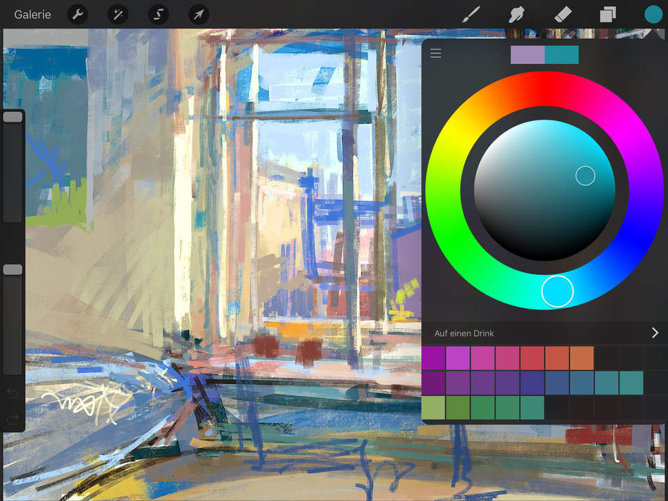 Procreate Screen