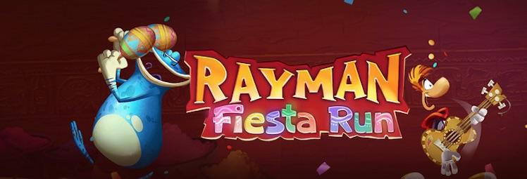 Rayman Fiesta Run Logo