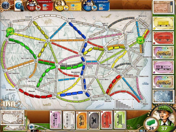 Ticket to Ride Screen