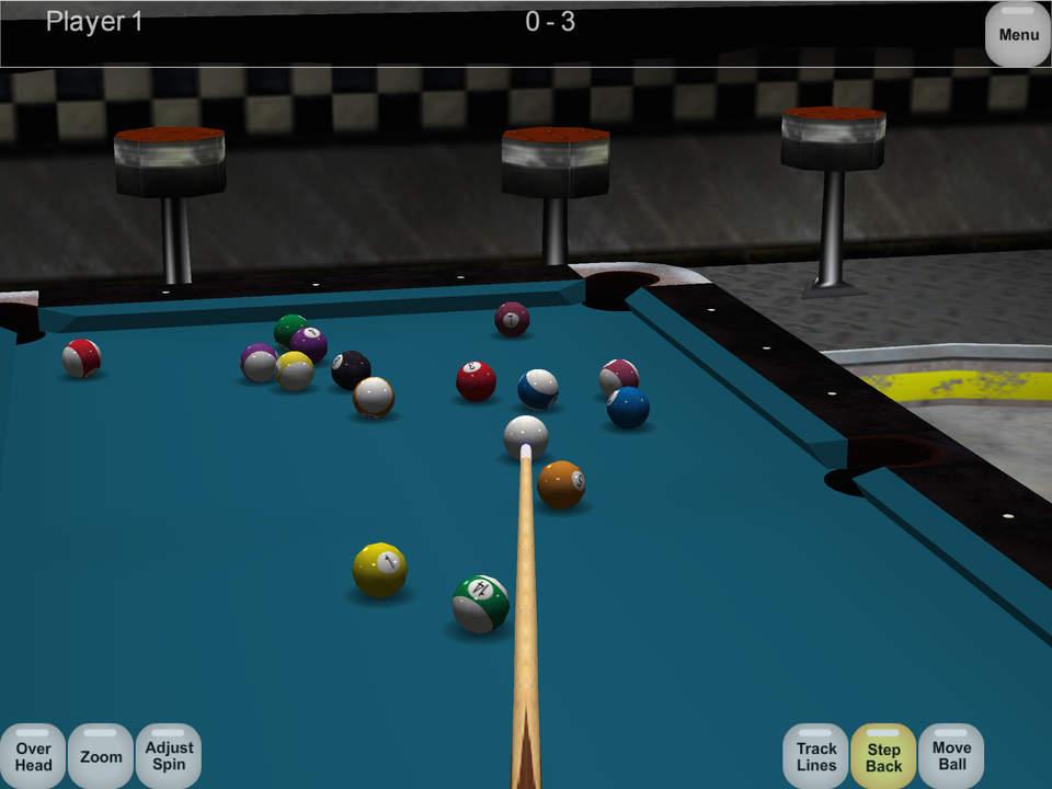 Virtual Pool Screen