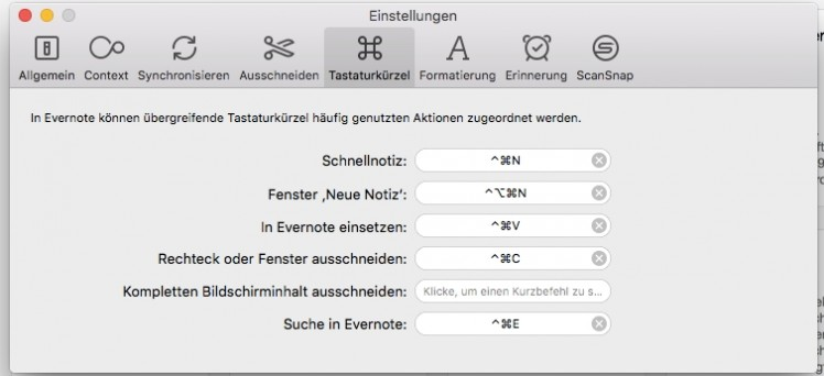 evernote_shortcuts