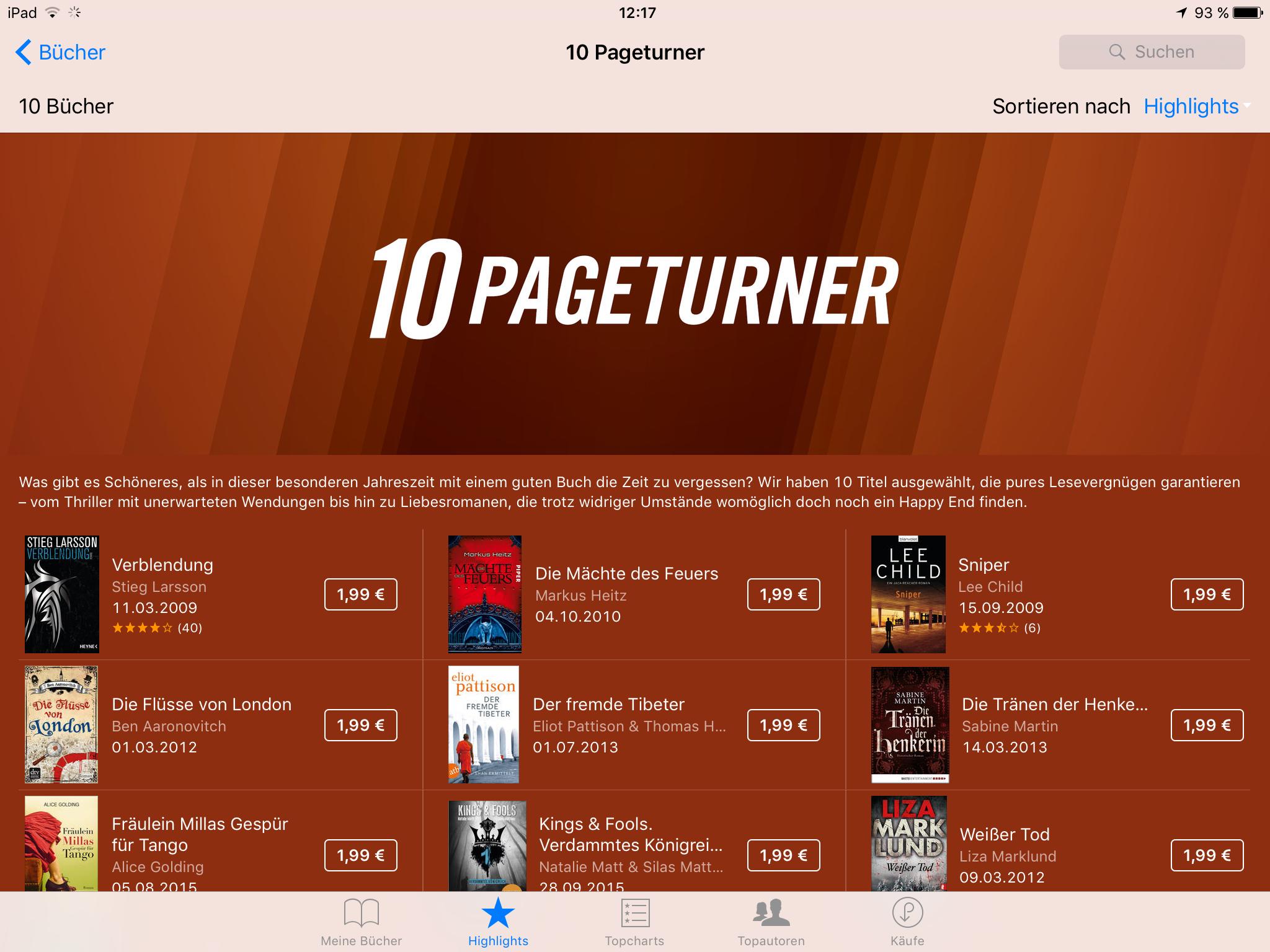 10 Pageturner