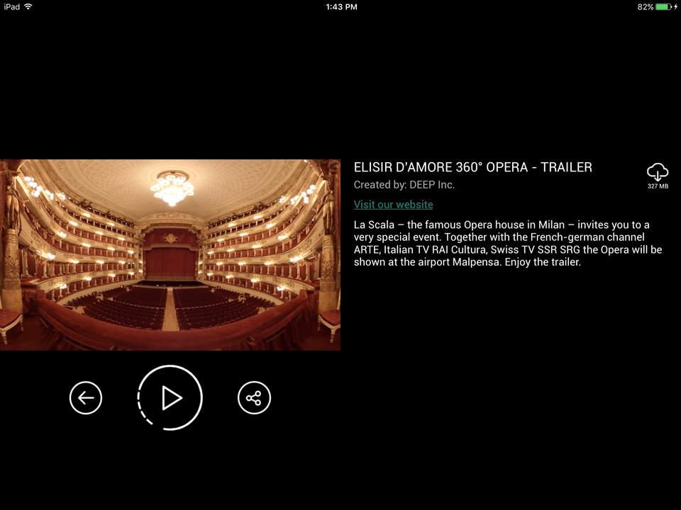 Arte360 Screen