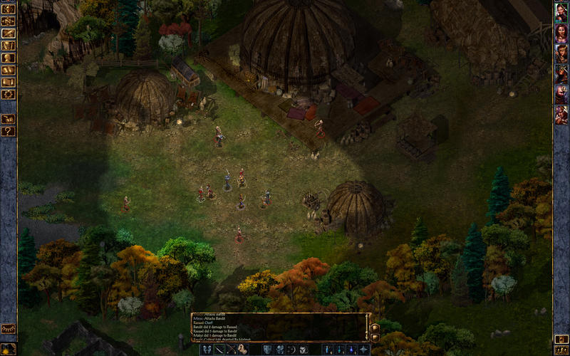 Baldurs Gate Screen