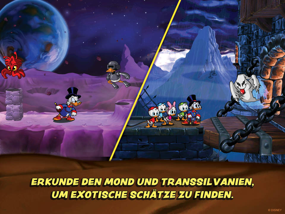 DuckTales Screen