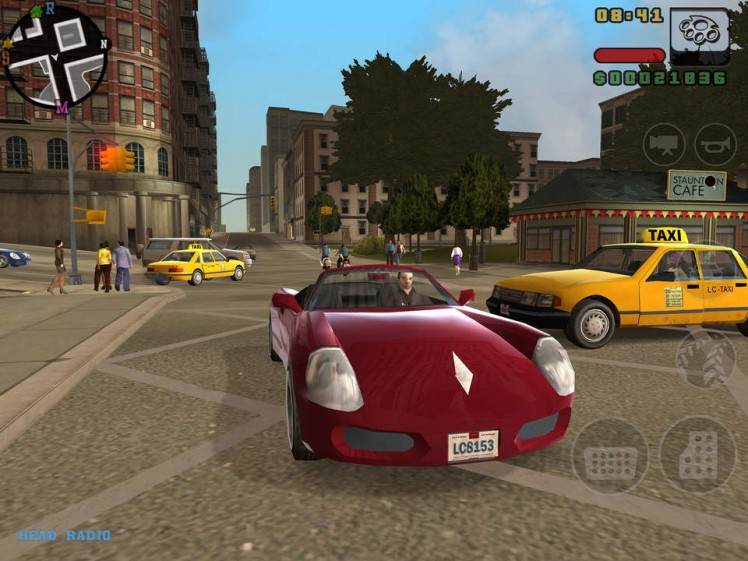 Grand Theft Auto Liberty City Stories Screen