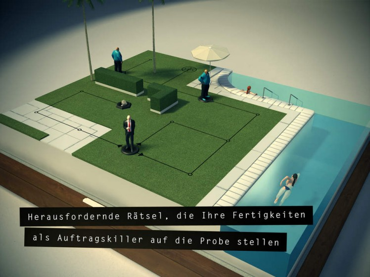 Hitman Go Screen
