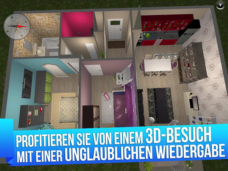 Home Design 3D Screen