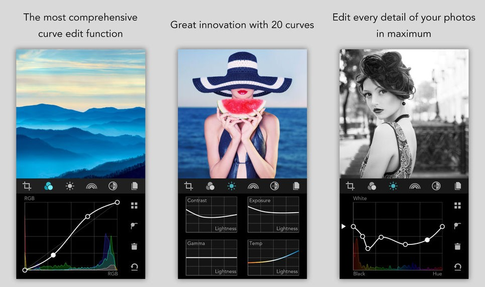 MaxCurve Screen