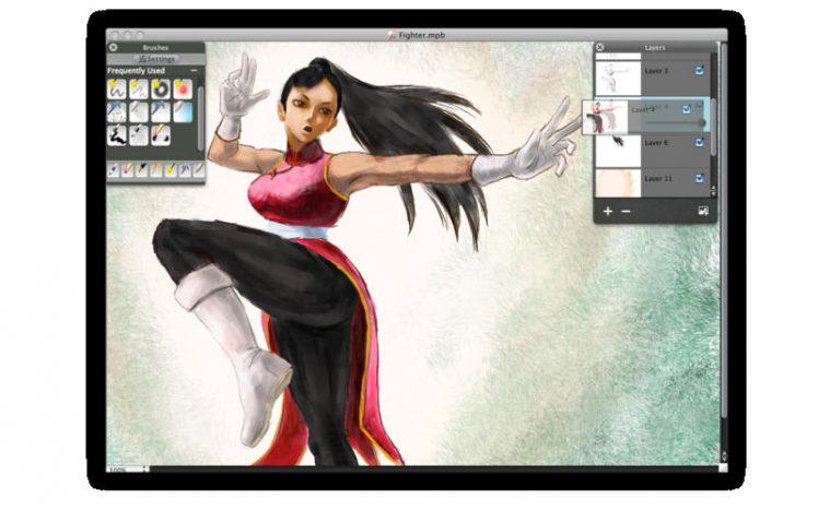 My PaintBrush Pro Screen