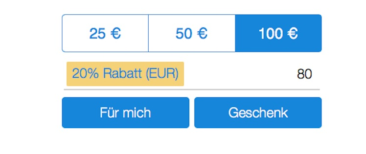 PayPal iTunes-Karten