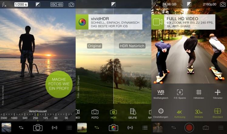 ProCamera Screen