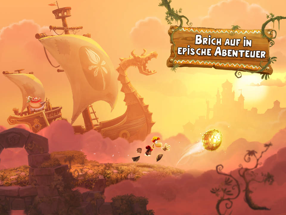 Rayman Adventures Screen