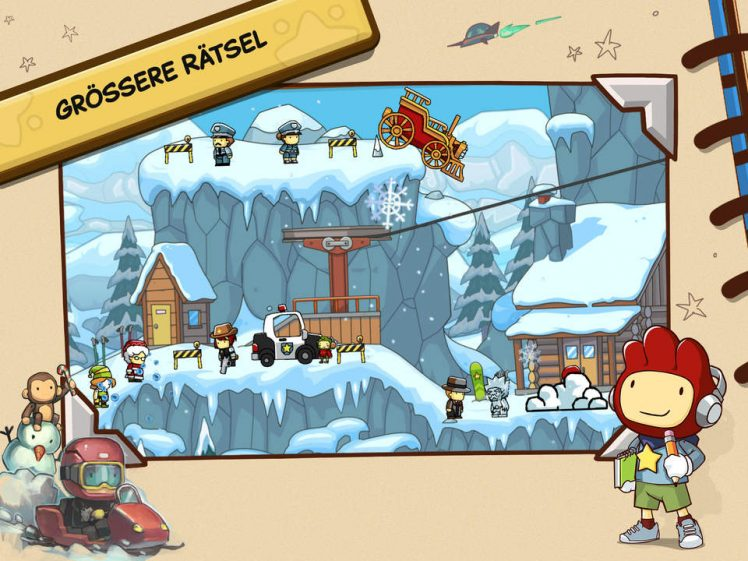 Scribblenauts Unlimited Screen