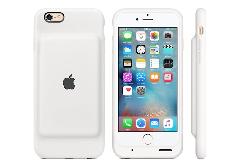 Smart Battery Case weiss