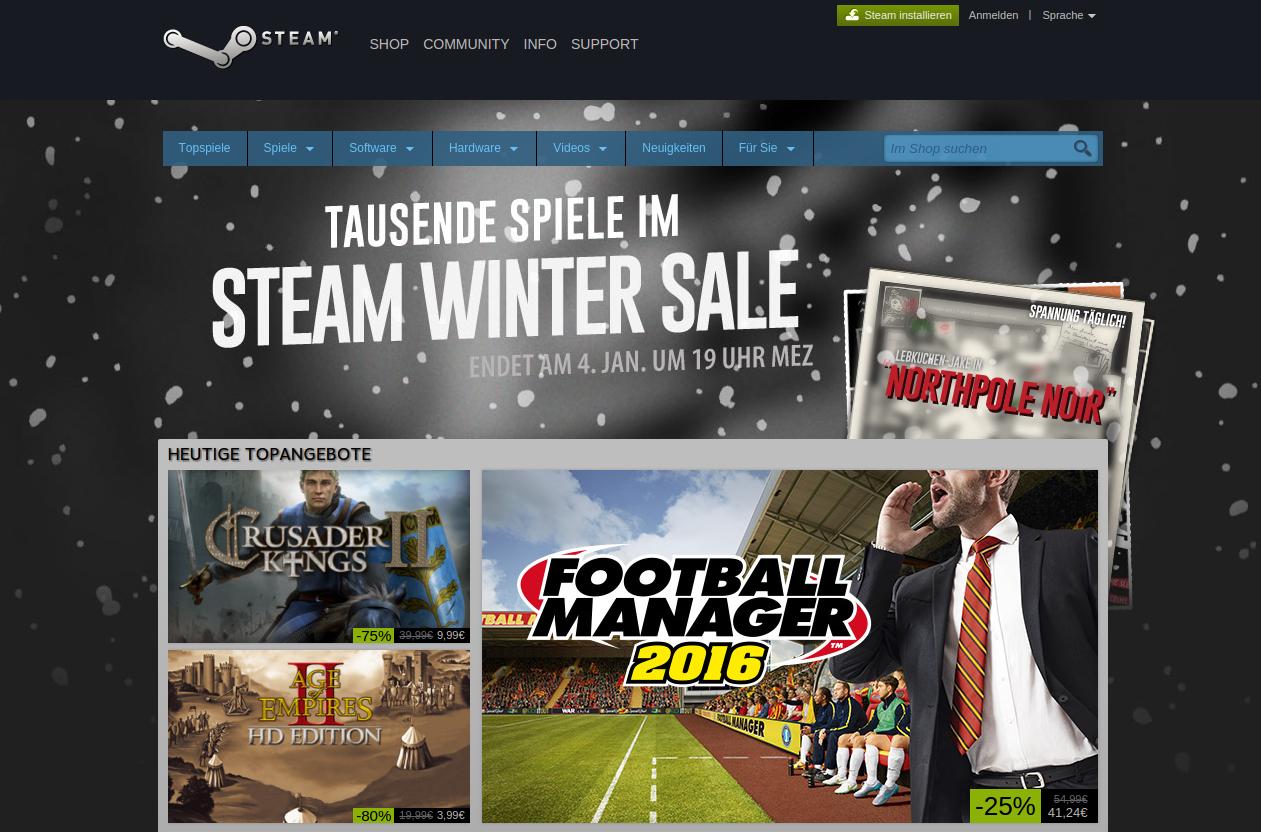 Steam Bild