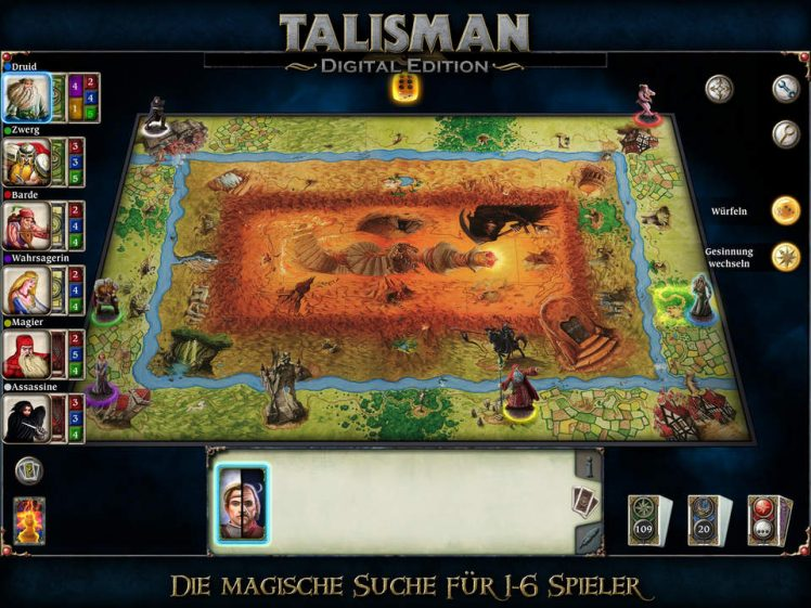 Talisman Screen