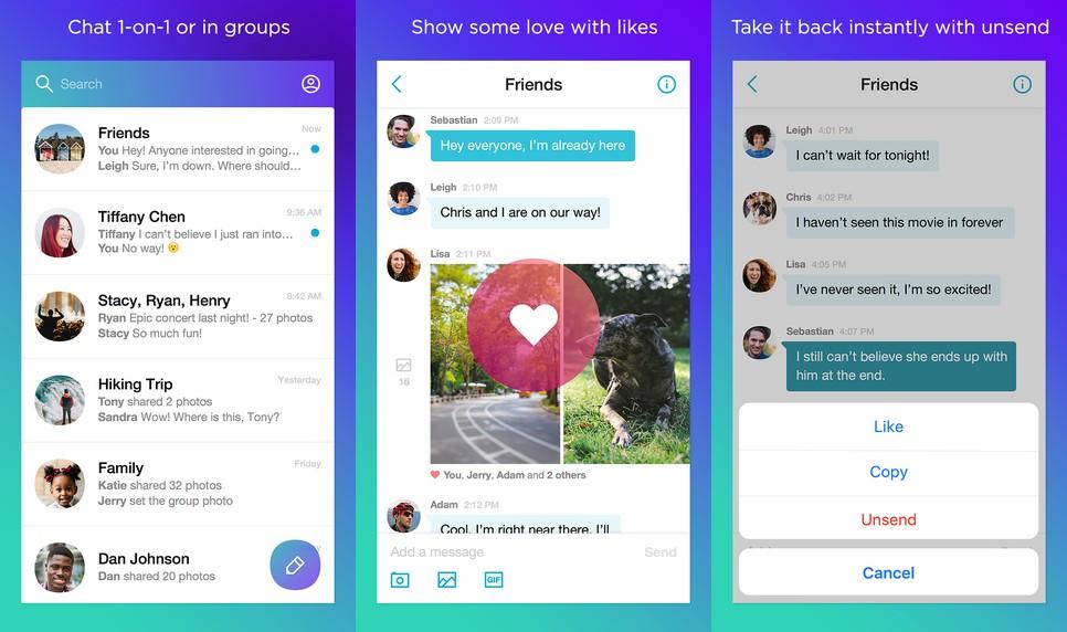 Yahoo Messenger Screen
