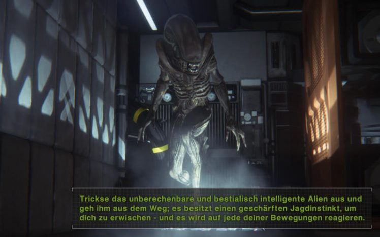 Alien Isolation Screen
