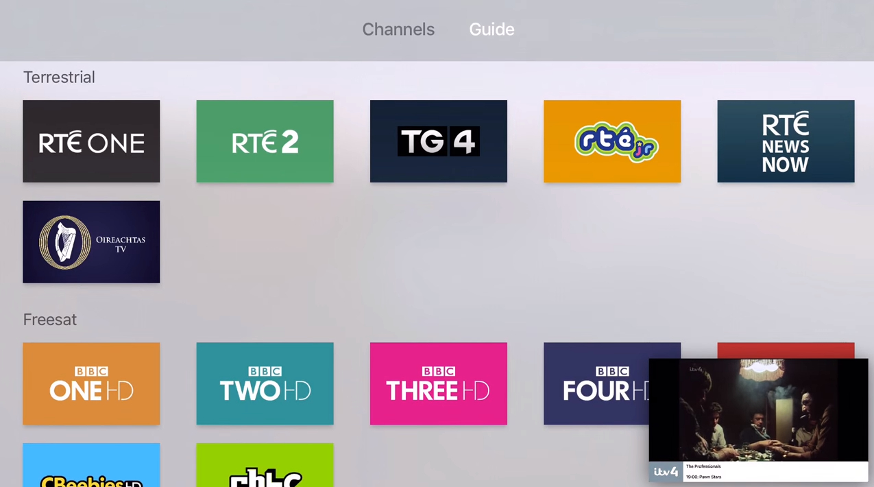 Apple TV PIP