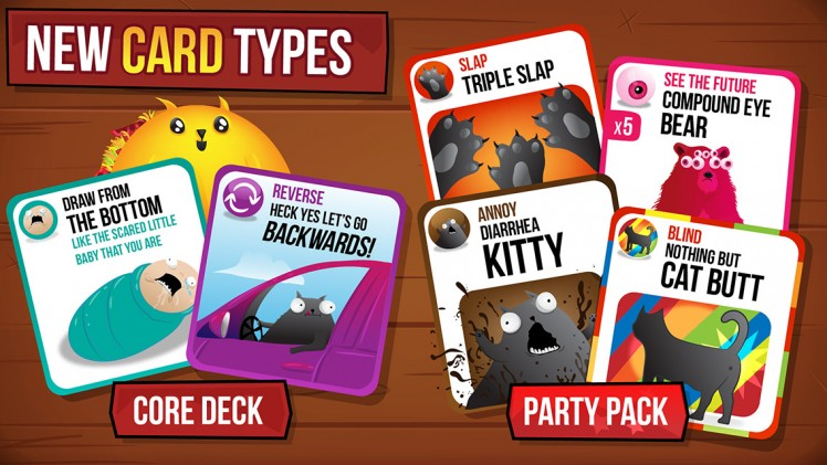 Exploding Kittens Screen