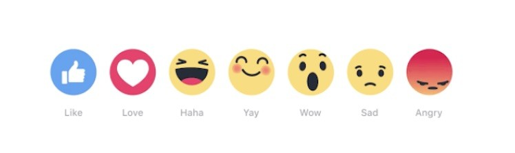 Facebook neue Like Emojis