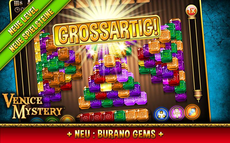 Mahjong Venice Mystery Puzzle Screen