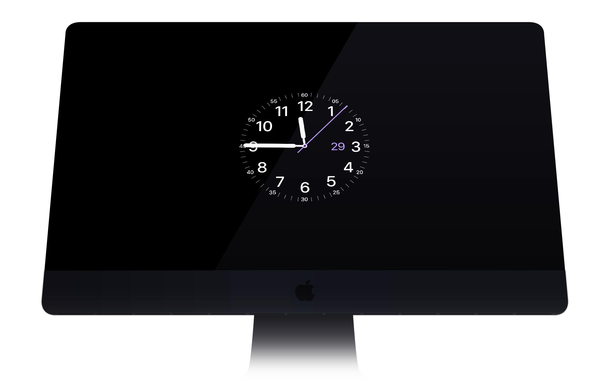 Watch OS X Bildschirmschoner