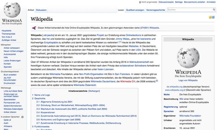 Wikipedia Web