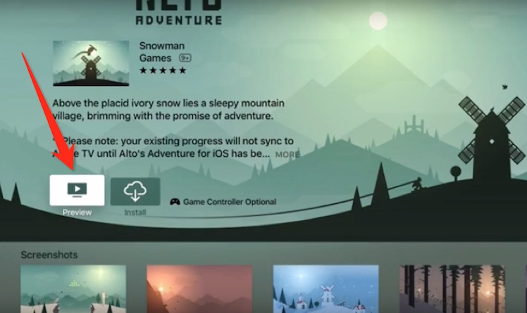 Altos Adventure Apple TV