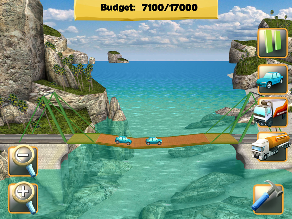 Bridge Constructor Screen