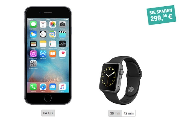 Bundle Telekom Watch iPhone 6s
