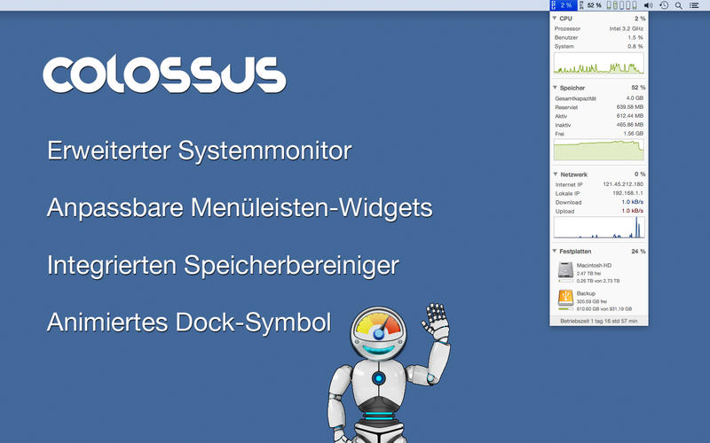 Colossus Screen