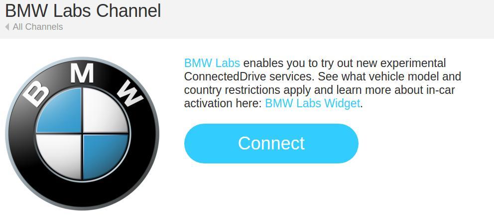 IFTTT BMW