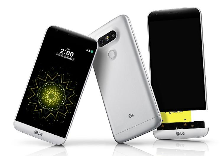 LG G5 Ansicht
