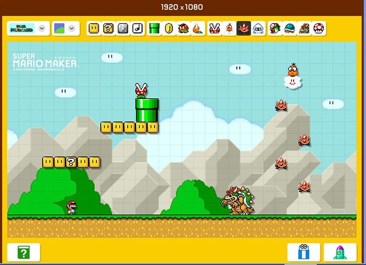 Mario-Hintergrund