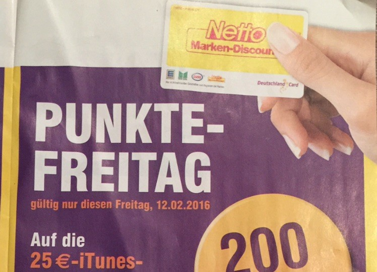Netto iTunes Karte 12.2.2016 iTopnews.de
