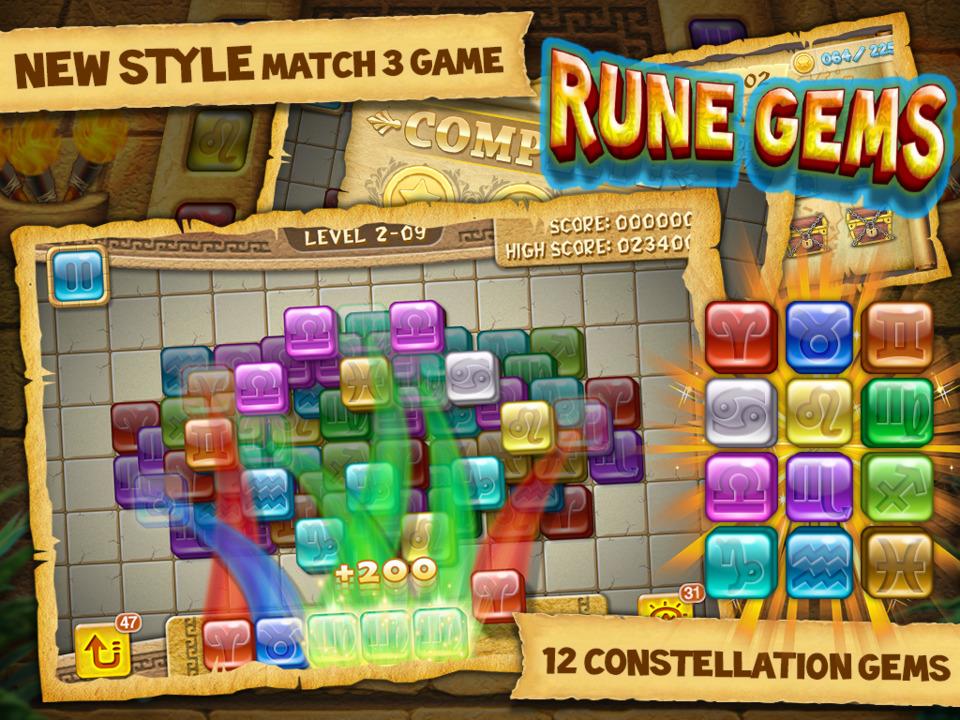 Rune Gems Screen