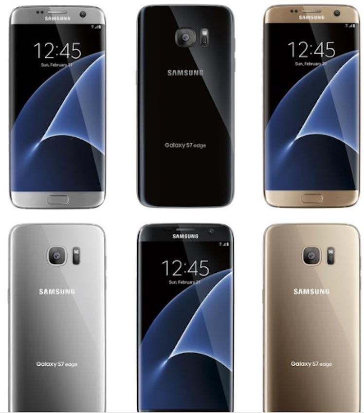 Samsung Galaxy S7 Leak evleaks