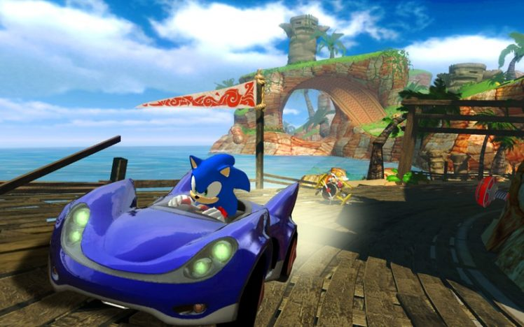 Sonic SEGA All-Stars Racing Screen