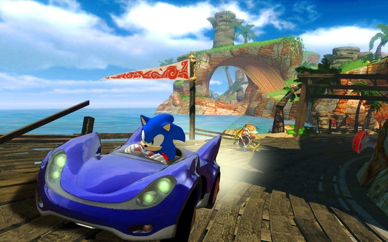 Sonic SEGA All-Stars Racing Screen