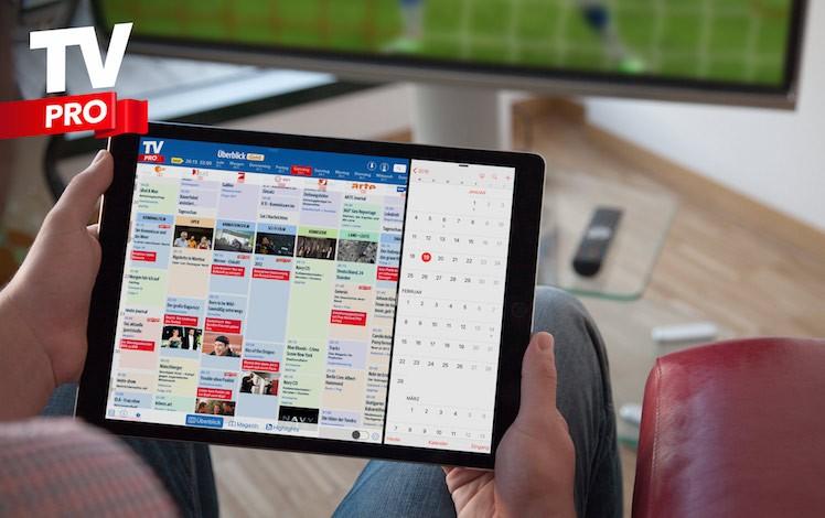 TV Pro Ansicht iPad neu 2016
