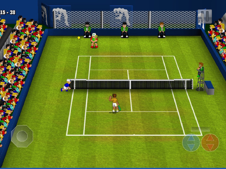 Tennis Champ Returns Screen
