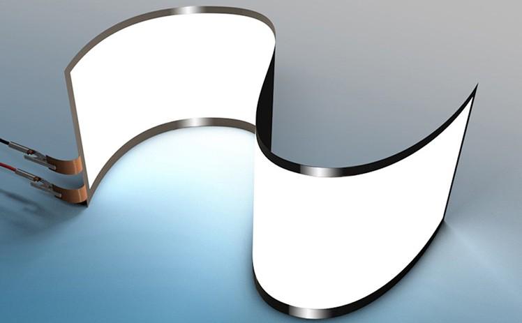 Biegbares OLED-Display