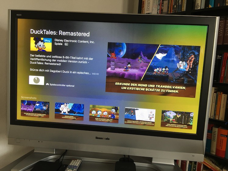 DuckTales remastered Apple TV 4