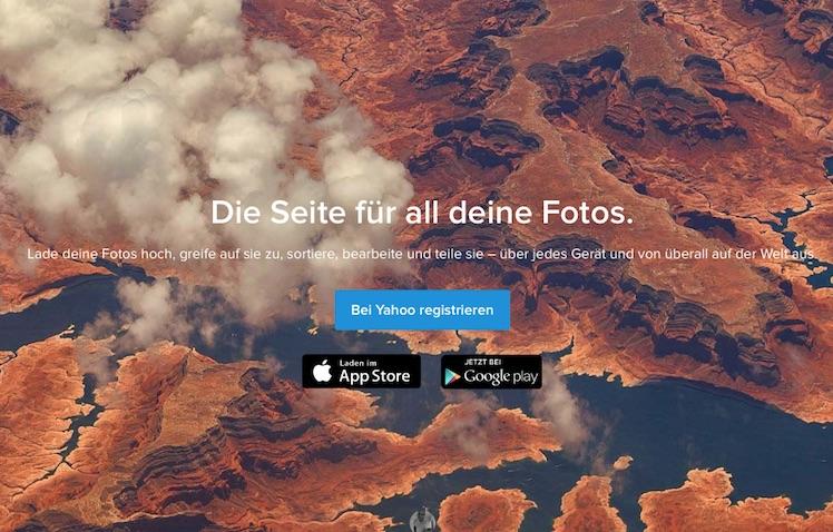 Flickr Ansicht