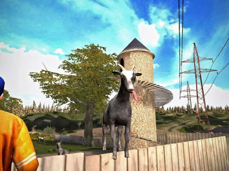 Goat Simulator Screen