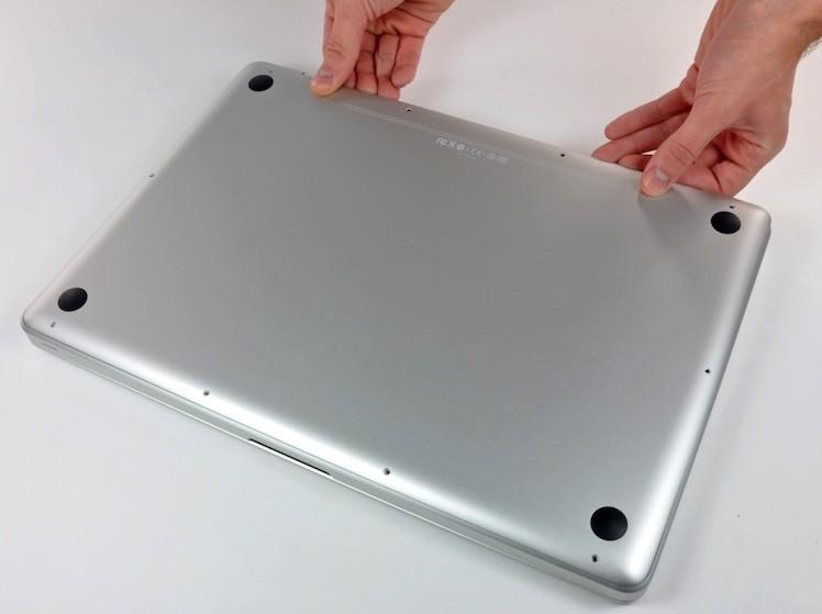 Macbook unten