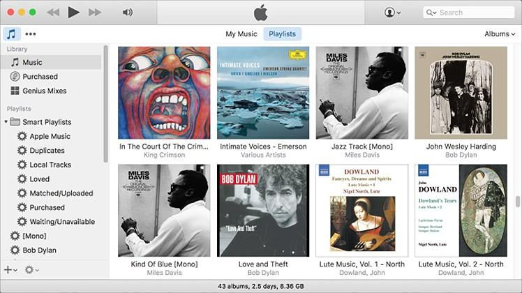 Mini-iTunes